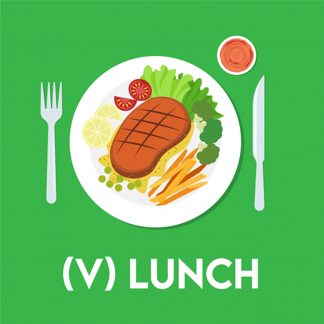 Tuesday : Vegetarian Lunch