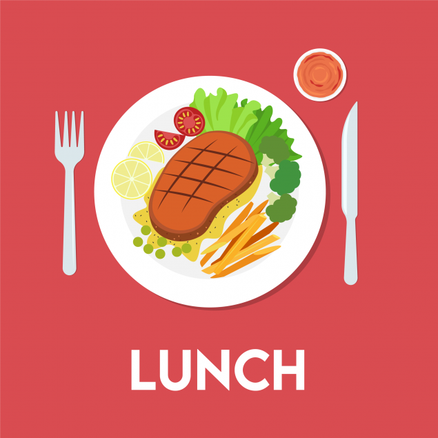 Monday : Lunch