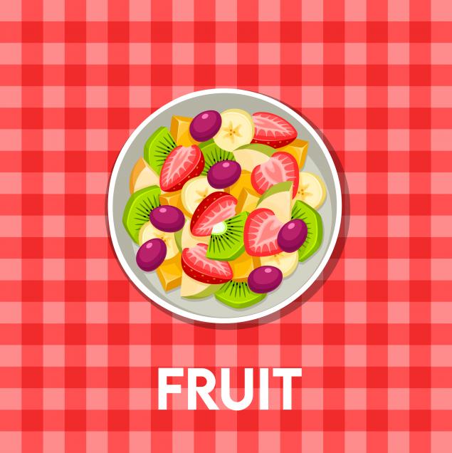 Seasonal fruit box 10 children