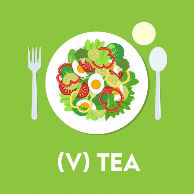 Monday : Vegetarian Tea